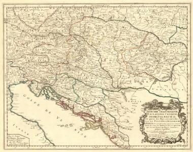 Hongrie, Transilvanie, E Sclavonie, Croacie, Bosnie, Dalmacie &c.