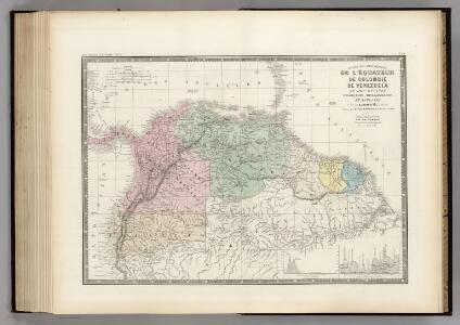 Venezuela, Colombie, l'Equateur, Guyanes.