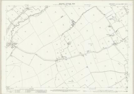 Lincolnshire XLVIII.11 (includes: Alvingham; Keddington; North Cockerington; South Cockerington) - 25 Inch Map