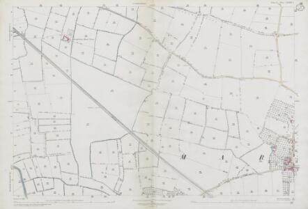 Somerset LXXXII.1 (includes: Kingsbury Episcopi; Long Load; Martock) - 25 Inch Map