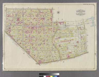 Part of Wards 16 & 18. Land Map Section, No. 10, Volume 1, Brooklyn Borough, New York City.