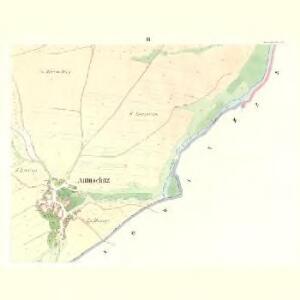 Autuschitz (Autussic) - c8286-1-003 - Kaiserpflichtexemplar der Landkarten des stabilen Katasters