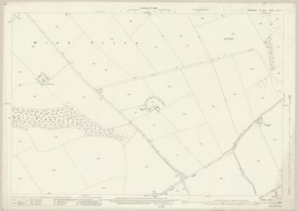 Yorkshire CXLIV.1 (includes: Cottam; Kirby Grindalythe; Luttons; Sledmere) - 25 Inch Map