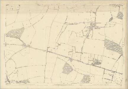 Hertfordshire XXII.3 (includes: Albury; Braughing; Little Hadham; Standon) - 25 Inch Map