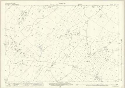 Anglesey XVIII.9 (includes: Aberffro; Cerrigceinwen; Llangristiolus; Trefdraeth) - 25 Inch Map