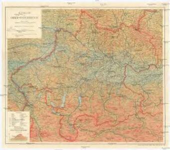 Handkarte von Ober-Österreich