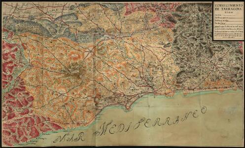 Manuscrit: Corregimiento de Tarragona