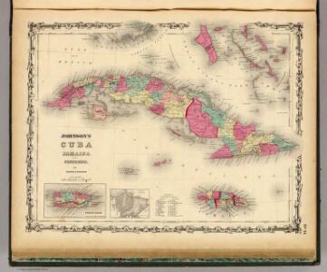 Cuba Jamaica And Porto Rico.