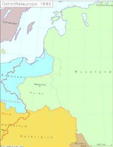 Ostmitteleuropa 1846