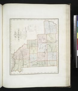 Map of the county of Madison / by David H. Burr; engd. by Rawdon, Clark & Co., Albany, & Rawdon, Wright & Co., N.Y.; An atlas of the state of New York: containing a map of the state and of the several counties / by David H. Burr.