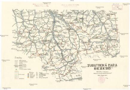 Turistická mapa Bezkyd [sic]