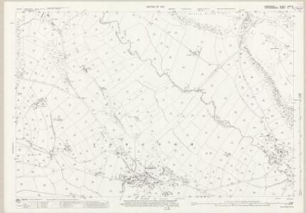 Derbyshire XXVII.2 (includes: Hartington Middle Quarter; Heathylee; Hollinsclough; Longnor; Sheen) - 25 Inch Map
