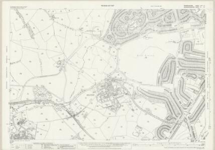 Warwickshire XIXA.10 (includes: Birmingham; Frankley) - 25 Inch Map