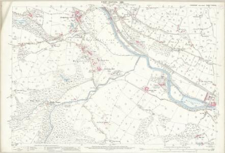 Yorkshire CXXXV.8 (includes: Bewerley; Dacre; High And Low Bishopside) - 25 Inch Map