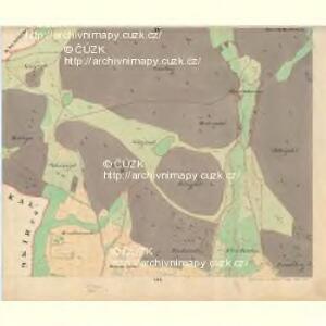 Weichseln - c8980-1-004 - Kaiserpflichtexemplar der Landkarten des stabilen Katasters