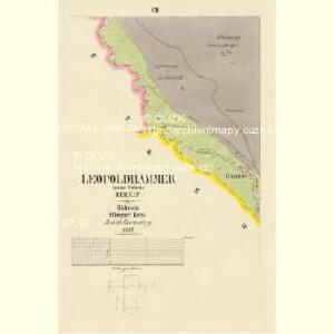 Leopoldhammer - c3862-1-006 - Kaiserpflichtexemplar der Landkarten des stabilen Katasters