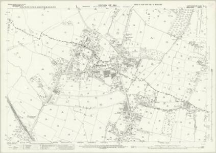 Hertfordshire XL.8 (includes: Enfield St Andrew; North Mimms; Northaw; South Mimms) - 25 Inch Map