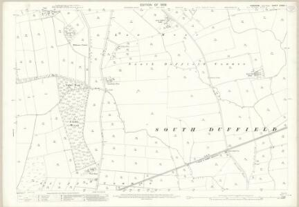 Yorkshire CCXXII.1 (includes: Barlby; Cliffe; North Duffield) - 25 Inch Map
