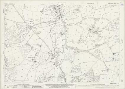 Sussex XLIV.13 (includes: Battle; Sedlescombe; Westfield) - 25 Inch Map