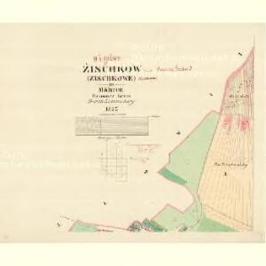 Zischkow (Zischkowe) - m1882-1-001 - Kaiserpflichtexemplar der Landkarten des stabilen Katasters