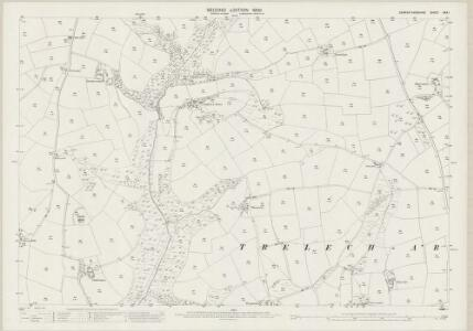 Carmarthenshire XXX.1 (includes: Trelech Ar Betws) - 25 Inch Map