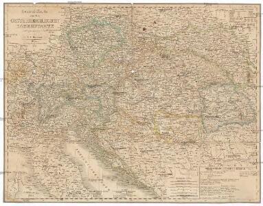 General-Karte von dem Oesterreichischen Kaiserstaate