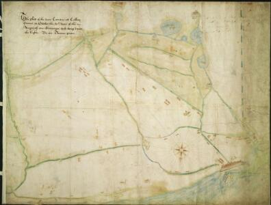 The platt of the Lowe Countrye att Calleys