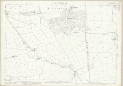 Durham XLII.14 (includes: Etherley; Heighington; Shildon) - 25 Inch Map