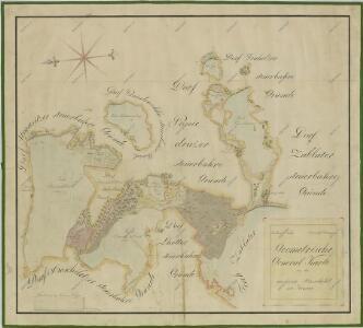 Přehledná mapa polesí Bošilec 1