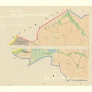 Drahonitz (Drahonice) - c1495-1-001 - Kaiserpflichtexemplar der Landkarten des stabilen Katasters