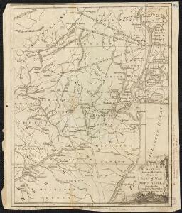 A New and accurate map of the present seat of war in North America, comprehending New Jersey, Philadelphia, Pensylvania, New-York, &c.
