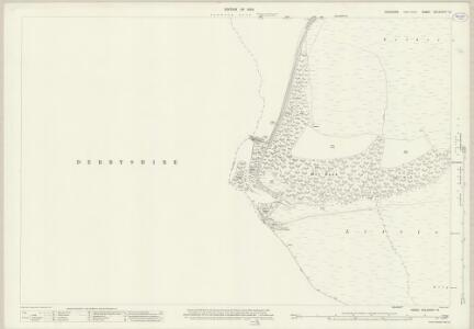 Yorkshire CCLXXXVIA.12 (includes: Bradfield; Derwent; Hope Woodlands) - 25 Inch Map