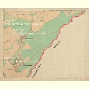 Chudiwa - c2670-1-006 - Kaiserpflichtexemplar der Landkarten des stabilen Katasters