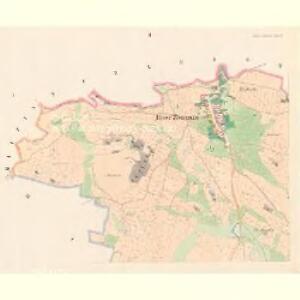 Hinter Zborowitz - c9032-1-001 - Kaiserpflichtexemplar der Landkarten des stabilen Katasters