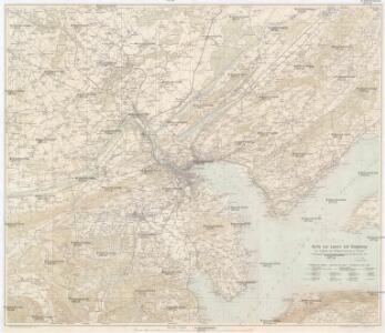 Karte von Luzern und Umgebung