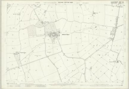 Gloucestershire VIII.5 (includes: Admington; Ebrington; Ilmington; Mickleton) - 25 Inch Map