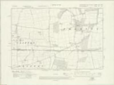Lincolnshire LXIX.NW - OS Six-Inch Map