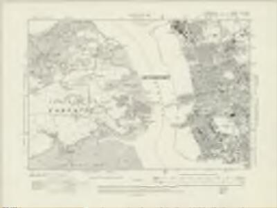 Cornwall XLVI.SW - OS Six-Inch Map
