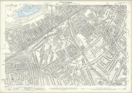 London (Edition of 1894-96) CI (includes: Battersea; Lambeth St Mary; Wandsworth Borough) - 25 Inch Map