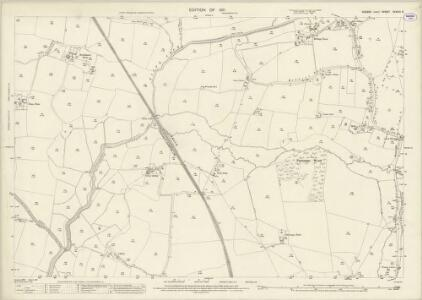 Sussex XXXVIII.9 (includes: Henfield; Shermanbury; West Grinstead) - 25 Inch Map