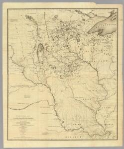 Hydrographical Basin of the Upper Mississippi River.