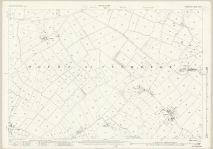 Cumberland XXVII.11 (includes: Holme St Cuthbert) - 25 Inch Map