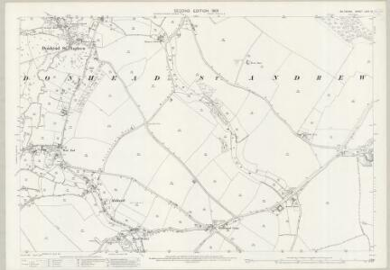 Wiltshire LXIX.10 (includes: Ansty; Donhead St Andrew; Donhead St Mary) - 25 Inch Map