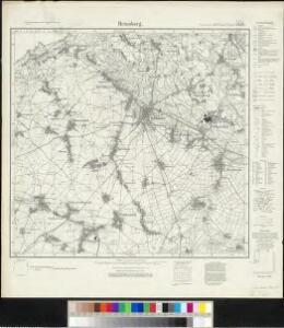 Meßtischblatt 2838 : Heinsberg, 1934