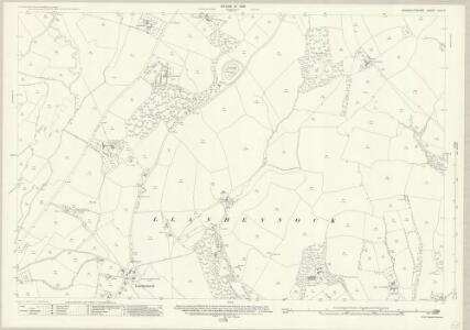 Monmouthshire XXIX.2 (includes: Llanhennock Fawr) - 25 Inch Map