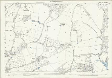 Sussex XXV.5 (includes: Cowfold; Lower Beeding; Nuthurst) - 25 Inch Map