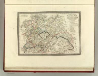Carte Generale D'Allemagne.