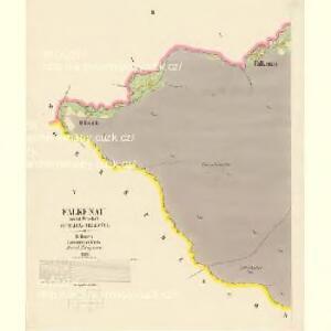 Falkenau - c3779-2-002 - Kaiserpflichtexemplar der Landkarten des stabilen Katasters