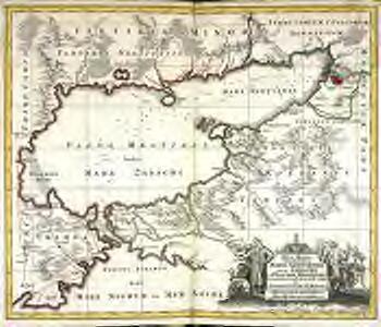 Nova mappa geographica maris Assoviensis vel de Zabache et paludis Mæotidis