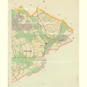 Schönbach - c3515-3-003 - Kaiserpflichtexemplar der Landkarten des stabilen Katasters
